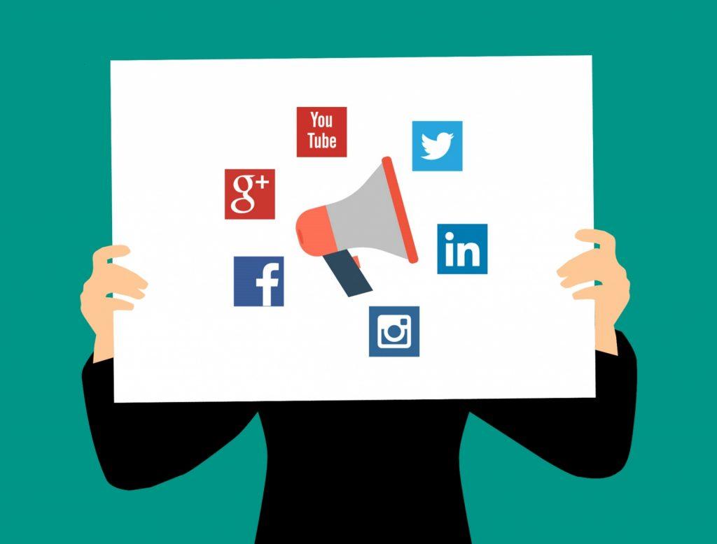 Schakel social media in